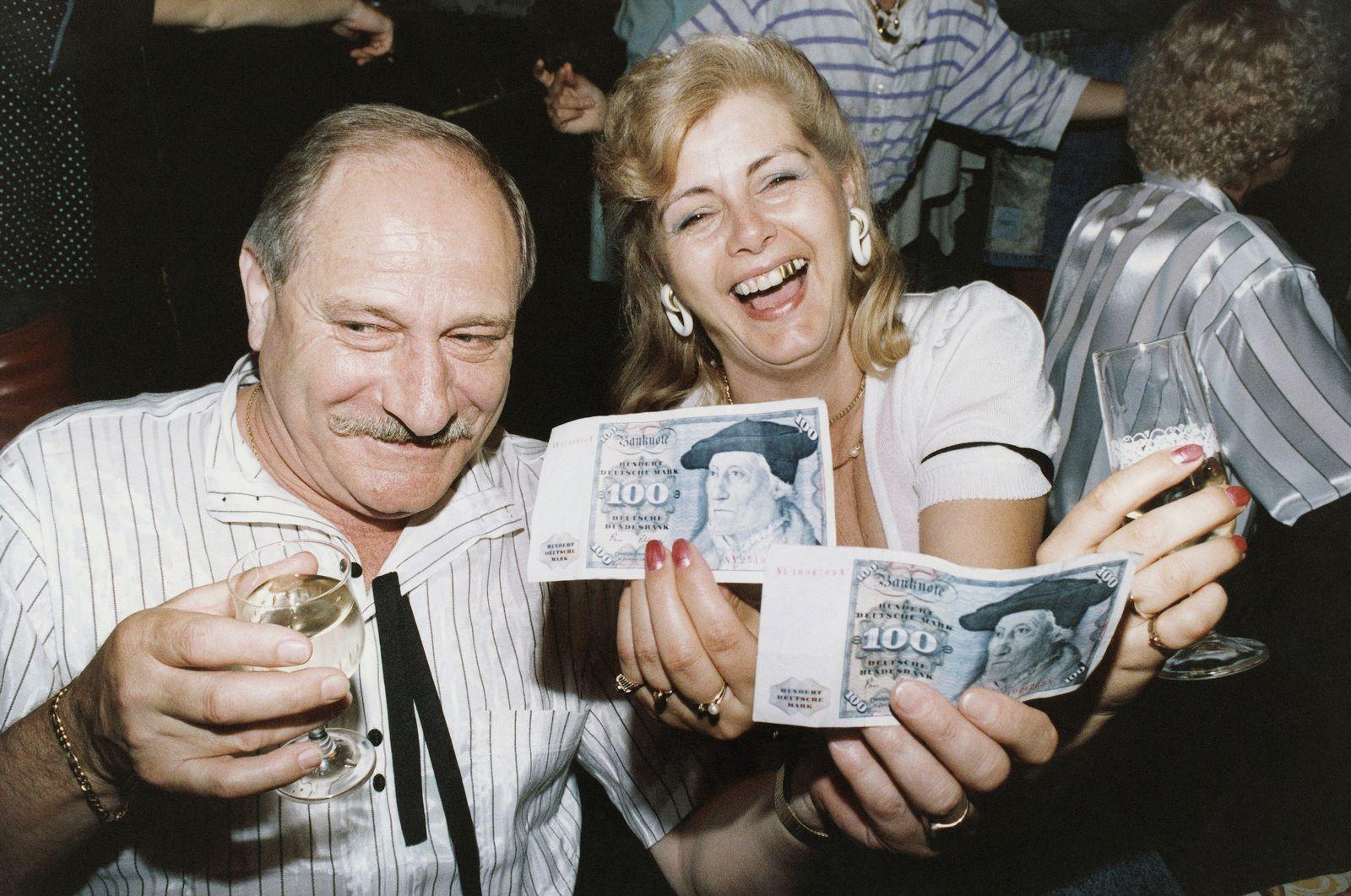 Währungsunion / Deutschlnad 1990