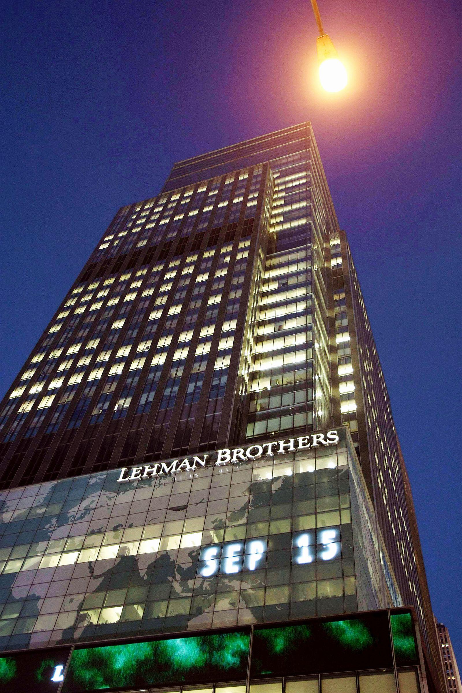 EINMALIGE VERWENDUNG PLUS SP 37/2018 S.58 Lehman Brothers