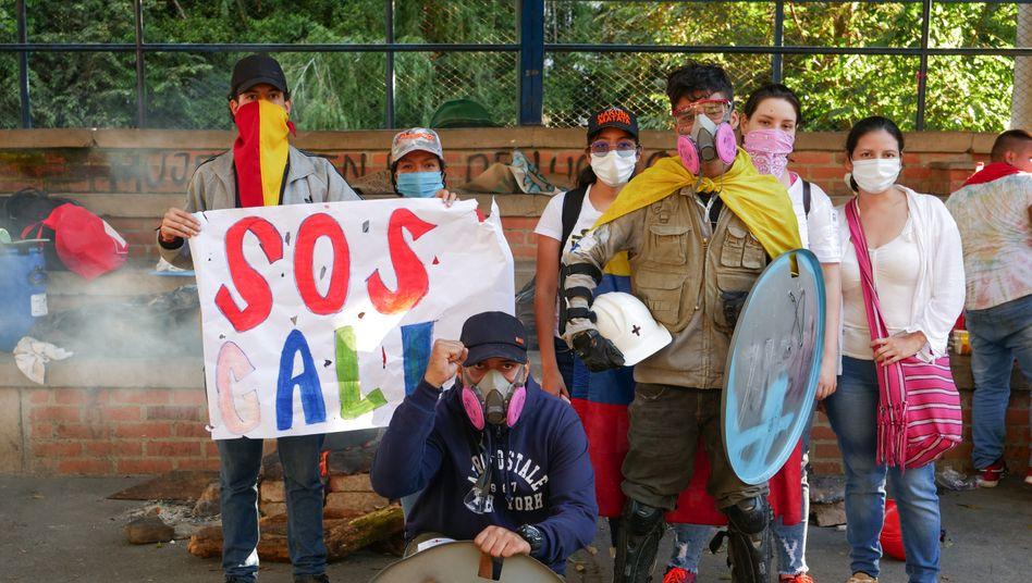 Demonstrierende in Cali: »Die Not war eine tickende Zeitbombe«
