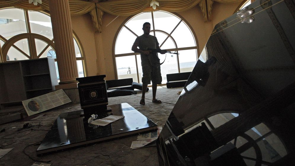 Libyen: Raubzug durch Gaddafis Luxusvillen