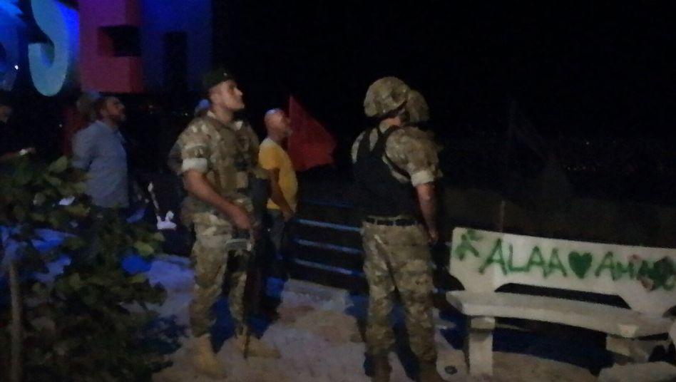 Libanesische Soldaten haben israelische Drohnen beschossen