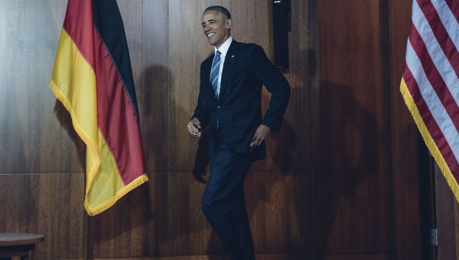 US President Barack Obama in Berlin