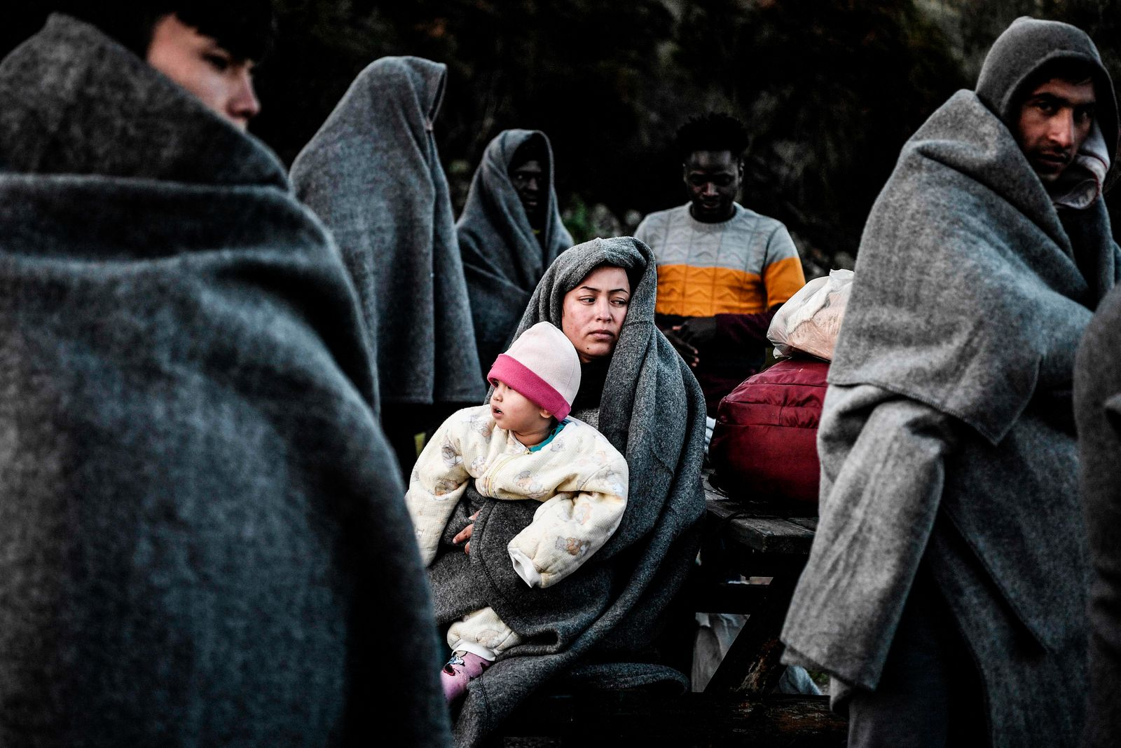 TOPSHOT-GREECE-TURKEY-EU-MIGRANTS-CONFLICT