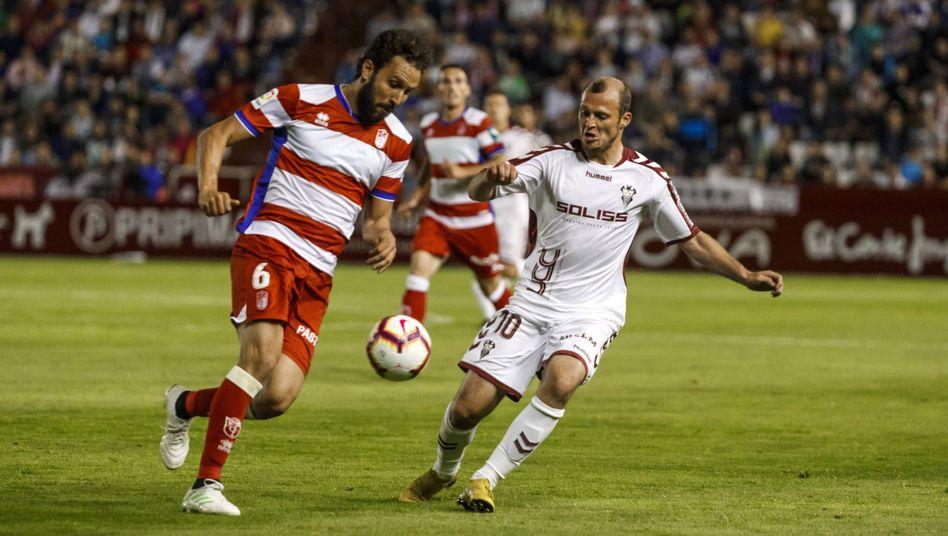 Roman Zozulya spielt seit 2017 für Albacete Balompié (Archivbild)