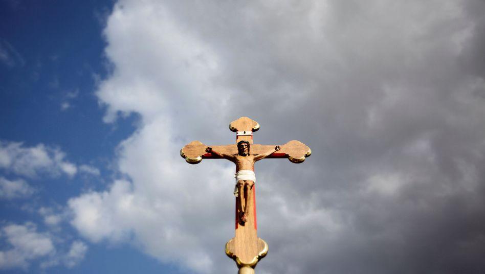 Kruzifix (Archiv): In Fulda trifft sich die Deutsche Bischofskonferenz zu ihrer Herbstvollversammlung