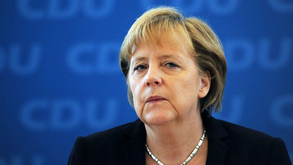 Bundeskanzlerin Angela Merkel: Erstmals Details zur Euro-Rettung vorgelegt