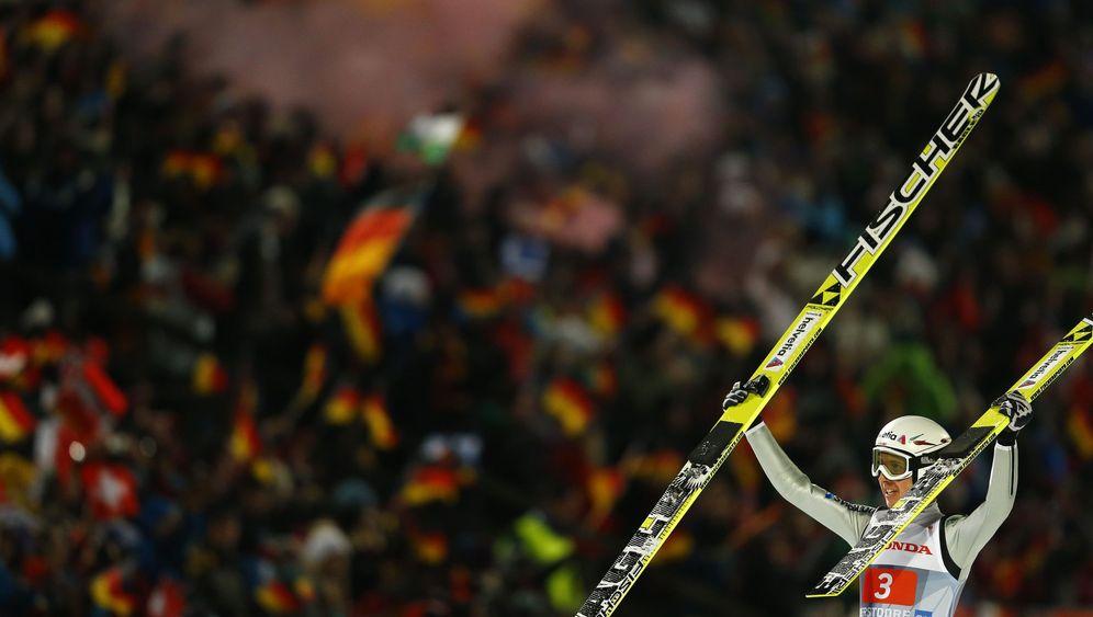 Vierschanzentournee: Ammann spitze, deutsches Quartett stark