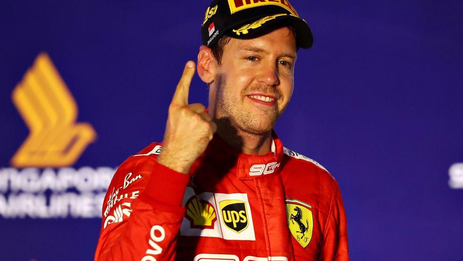 Vettel hat in dieser Saison erst ein Rennen gewonnen
