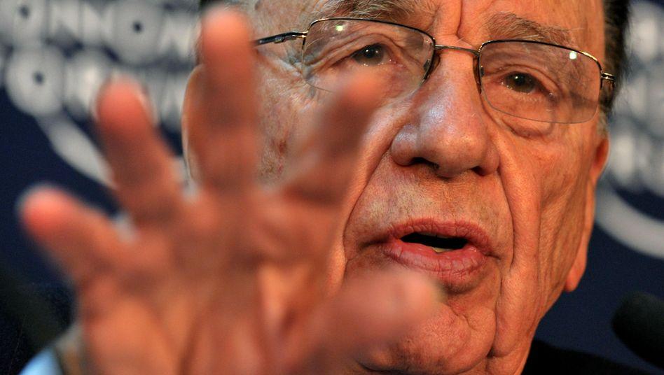 Medienmogul Murdoch: Glaubt an eine Zukunft voller zahlungswilliger iPad-Nutzer