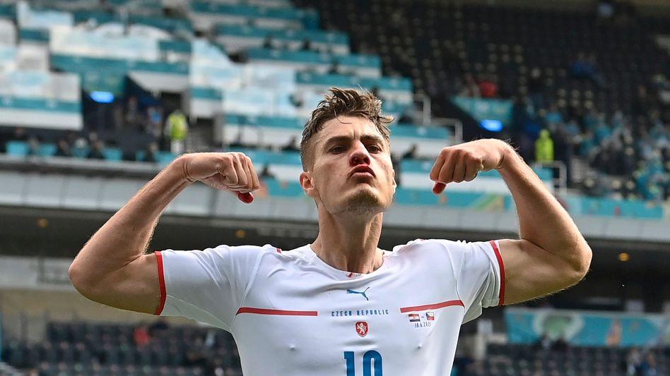 Patrik Schick hat die ersten drei Tore Tschechiens bei dieser EM erzielt