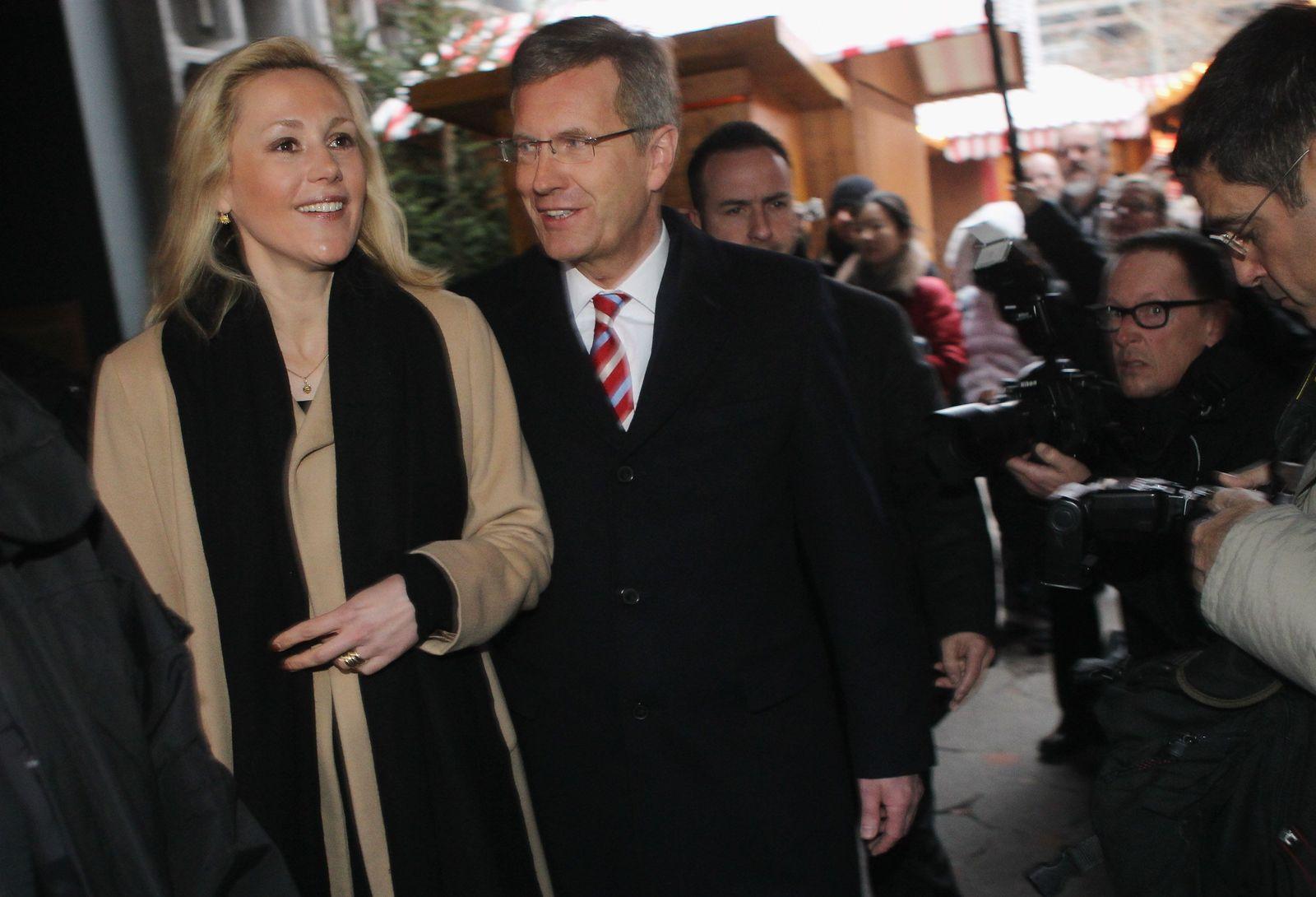 Wulff und Frau