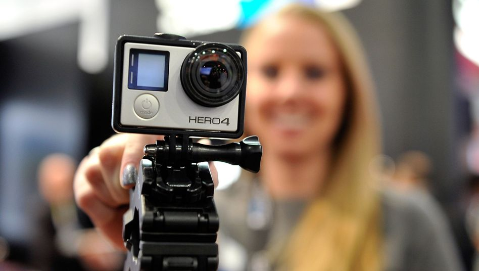GoPro Hero 4 auf der CES in Las Vegas: Lämpchen aus und heimlich aufzeichnen