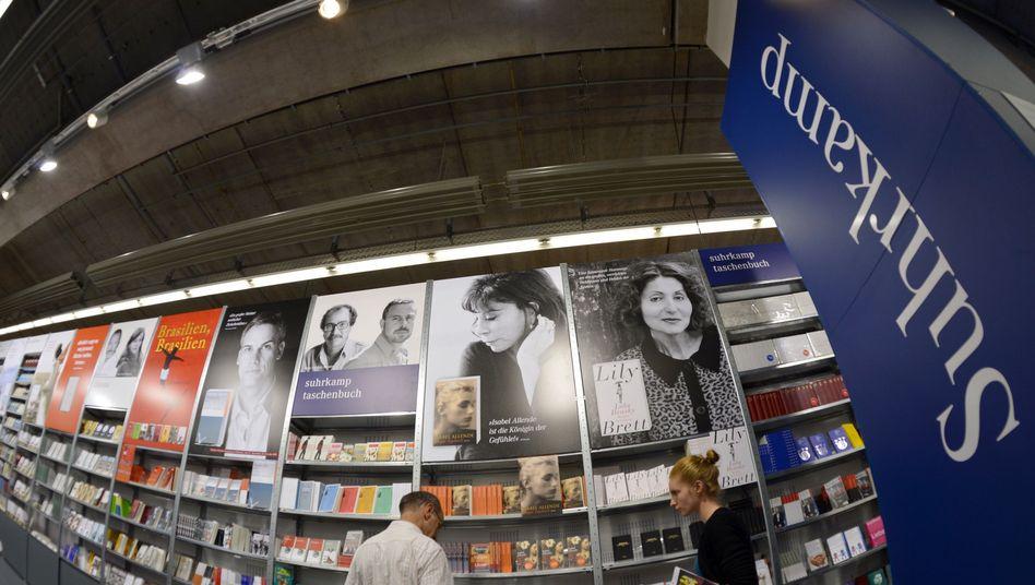 Suhrkamp auf der Buchmesse: Wichtigster deutscher Literaturverlag