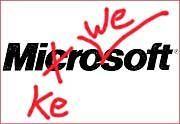 Verwechslungsgefahr gebannt: Microsoft schreibt man wieder ohne KE und WE