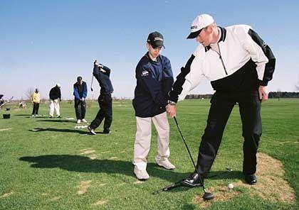 Golfunterricht auf der Driving Range: Ungebrochene Nachfrage