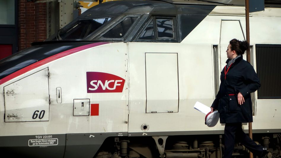 TGV-Zug in Lille