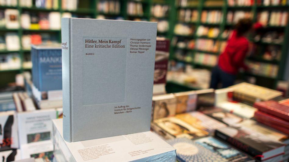 """Neue kommentierte Fassung der Hetzschrift """"Mein Kampf"""""""