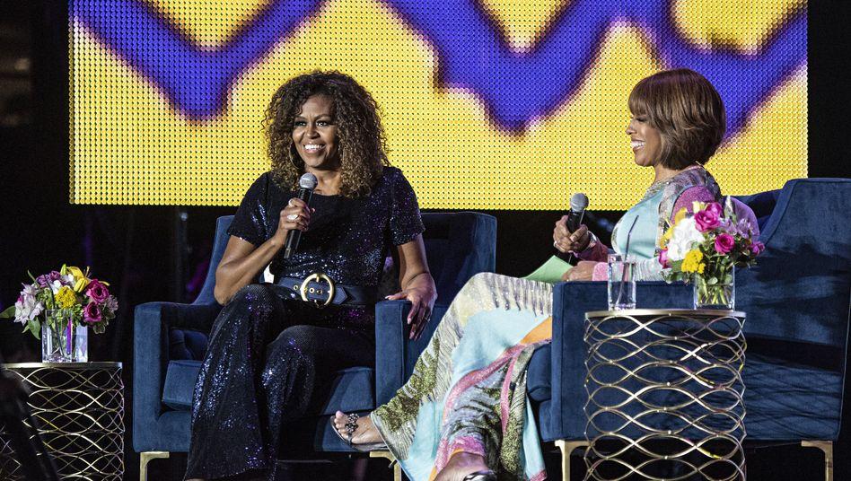 Michelle Obama wünschte, sie hätte ihre Entwicklung besser dokumentiert