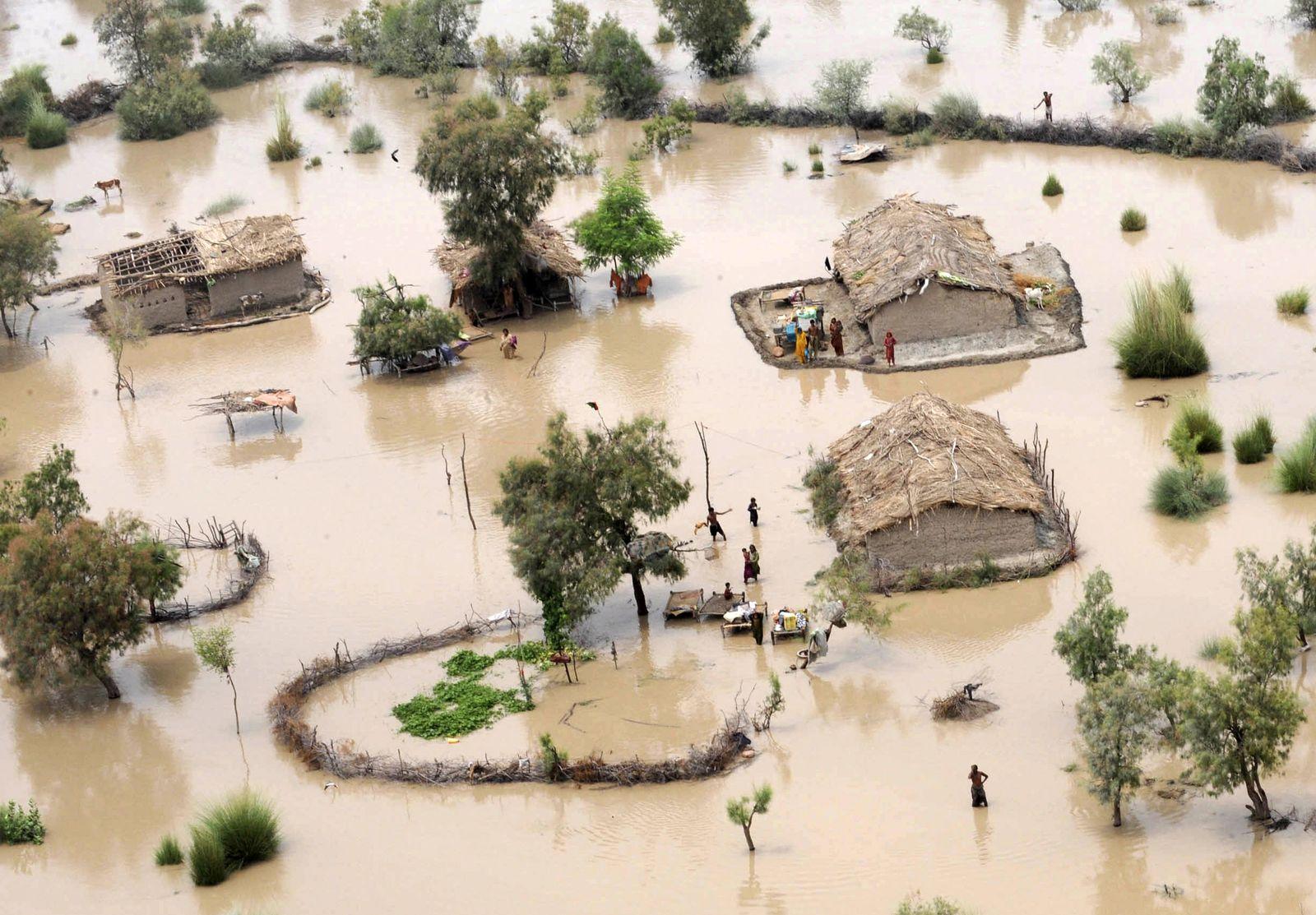 Klimawandel / Überflutung Bangladesh
