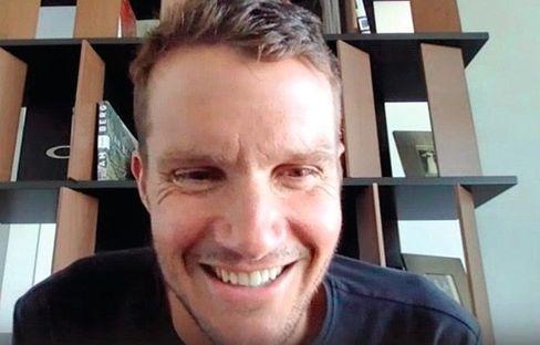 Jan Frodeno beantwortete die Fragen der Kinderreporter im Videocall.