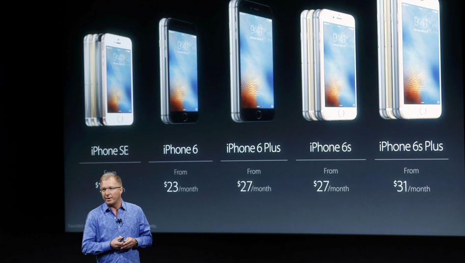 iPhone-Präsentation: Apple auf Schrumpfkurs