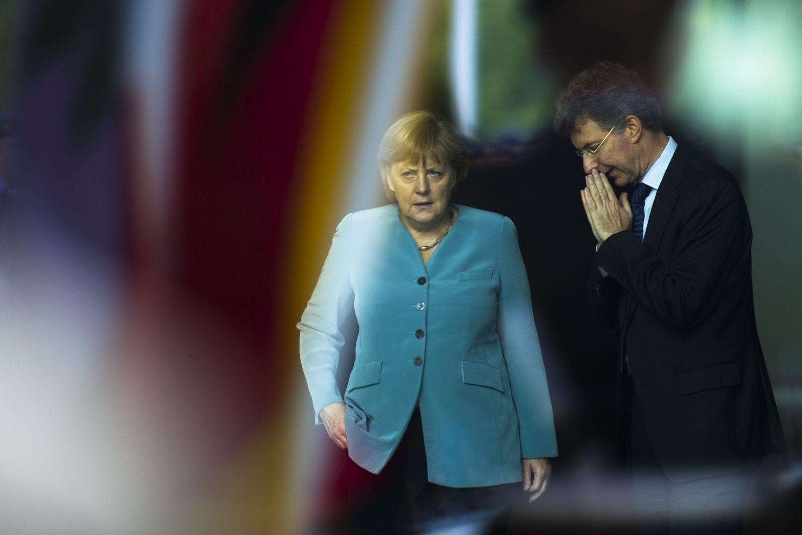 Merkel/ Heusgen