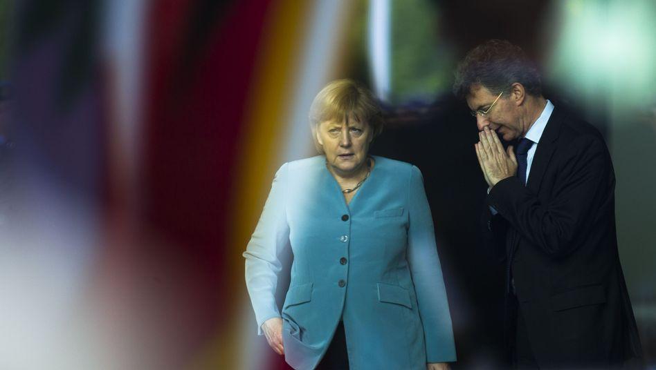 Merkel, außenpolitischer Berater Heusgen: Woche der Irrungen und Wirrungen