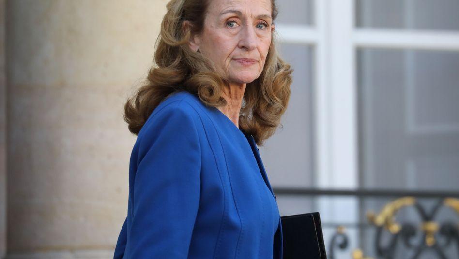 "Noch heißt sie ""Madame le Ministre"": Frankreichs Justizministerin Nicole Belloubet"