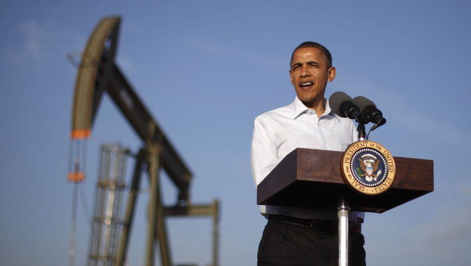 Präsident Obama in New Mexico (im März 2012): Ölvorkommen ändern US-Strategie