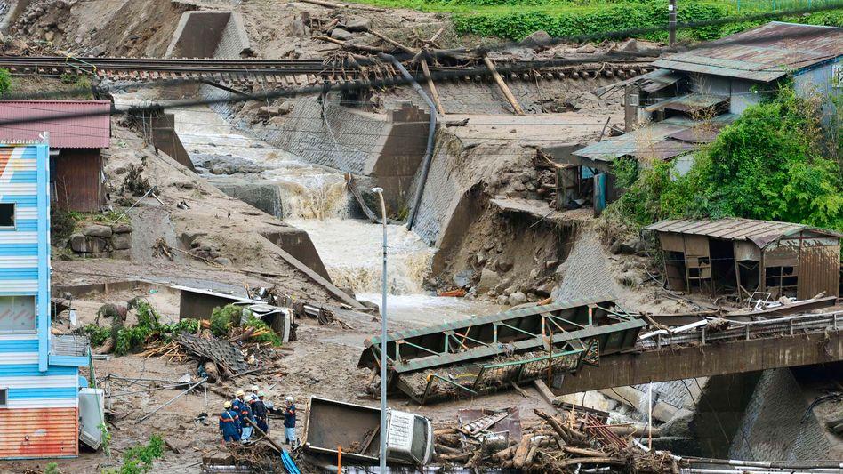 """Japan: Taifun """"Neoguri"""" reißt mehrere Menschen in den Tod"""