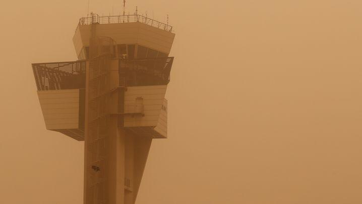 Sandsturm beeinträchtigt Flugverkehr auf den Kanarischen Inseln