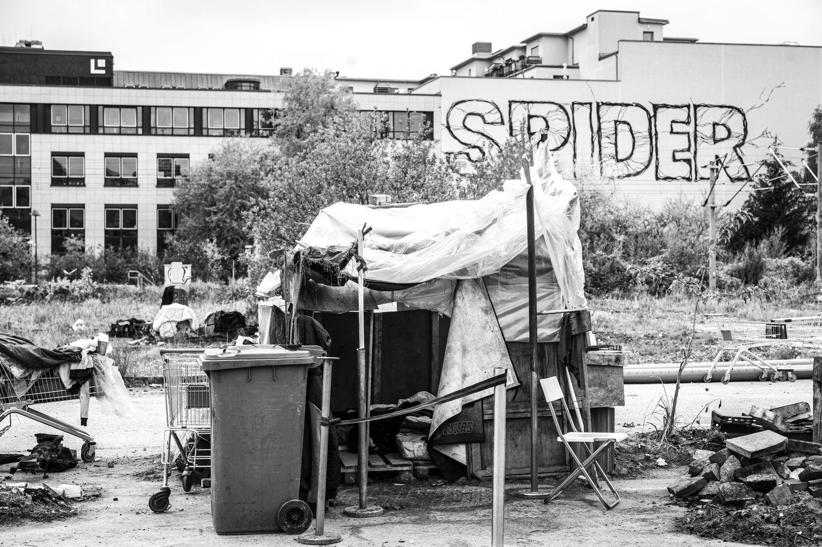 Obdachlosigkeit - Orte © Debora Ruppert -6