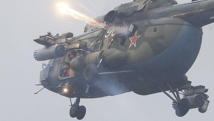 """Russisches Militärmanöver """"Sapad"""": Muskelspiele an der Nato-Grenze"""