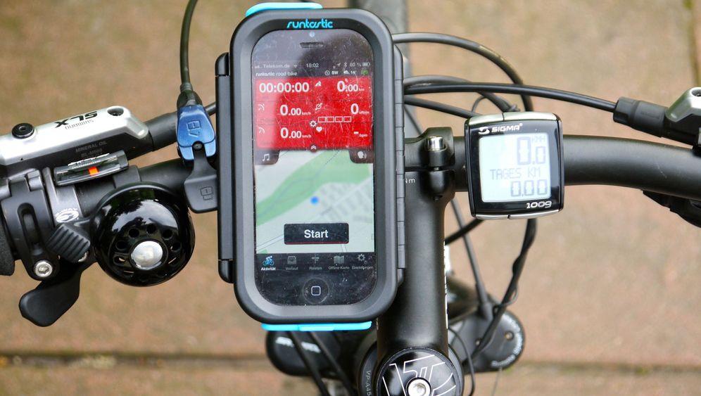 """Eine App zum Radfahren: """"Runtastic Road Bike Pro"""" im Test"""