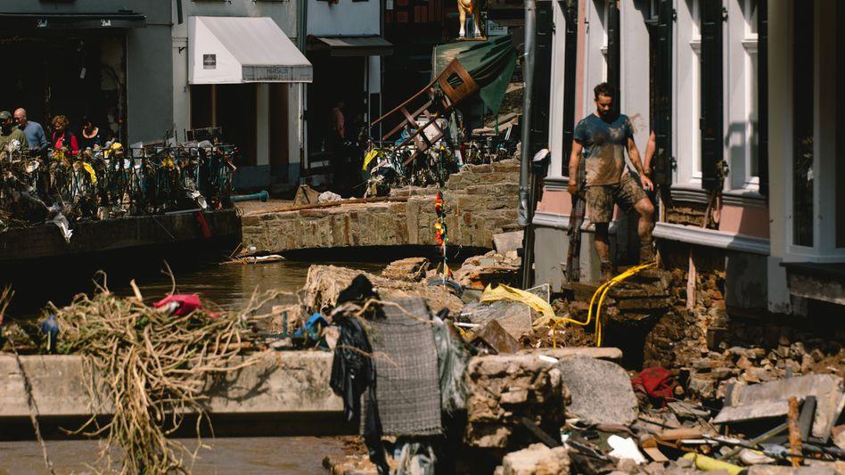 Zerstörung in Bad Münstereifel