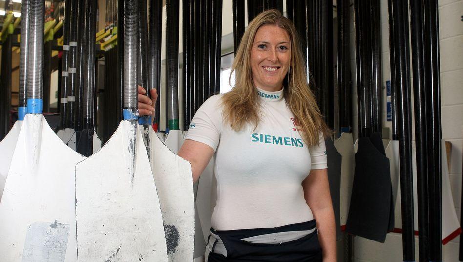 Victoria Hansford, heute Aggar, vor den Olympischen Spielen 2008