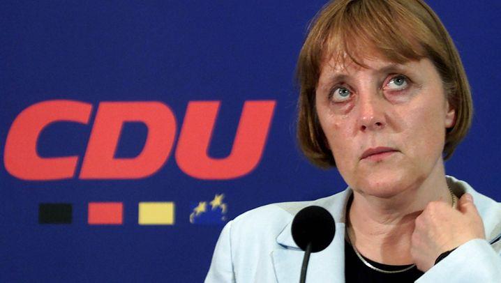 Merkels Rückzug vom CDU-Vorsitz: Ins Gesicht geschrieben