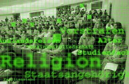 Rasterfahndung an Unis: Ein Thema unter Studenten?