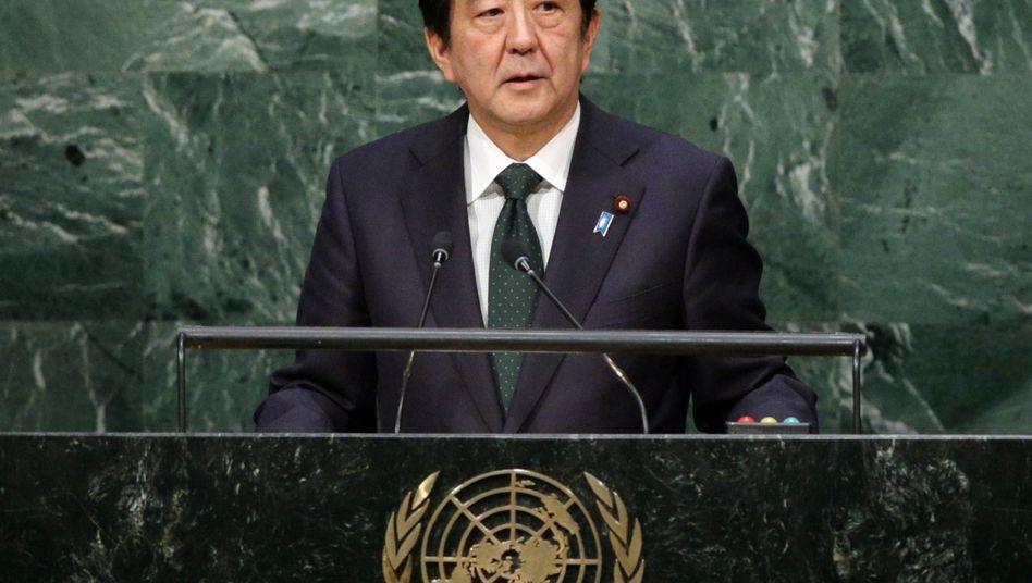 Japans Premier Abe: Tokio lässt kaum Asylbewerber ins Land