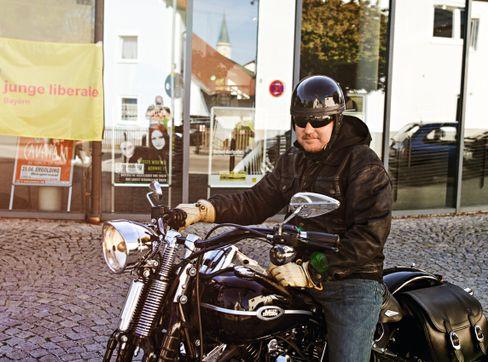 """Harley-Fahrer Schulz 2016: """"Ich würde gern noch mal Motorrad fahren"""""""