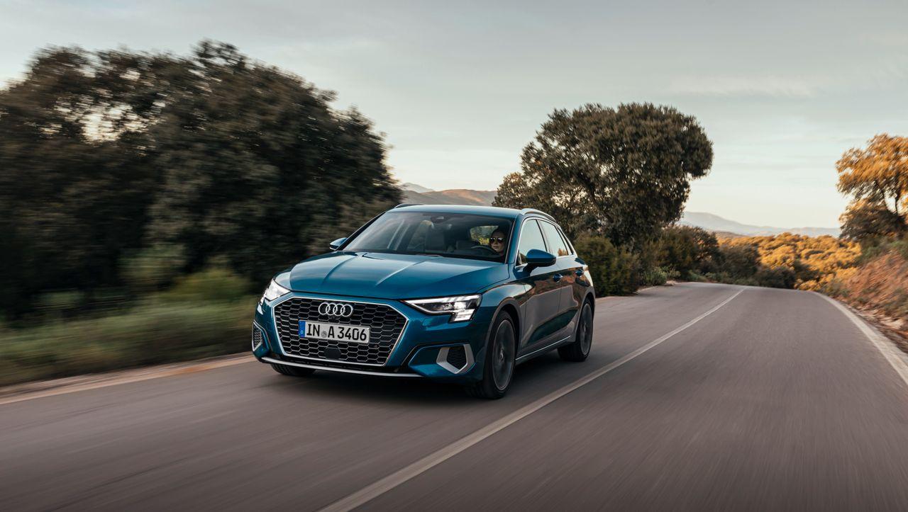 Mehr Glanz - der neue Audi A3 zeigt, wie fein sich VW-Golf-Technik herausputzen lässt - DER SPIEGEL - Mobilität