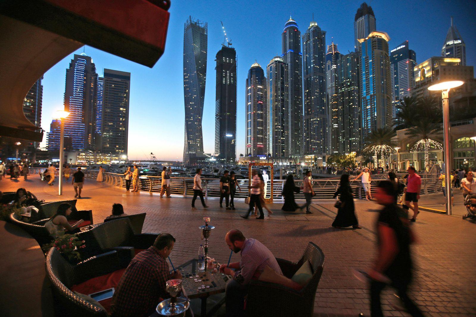 Virus Outbreak Dubai Alcohol Economy