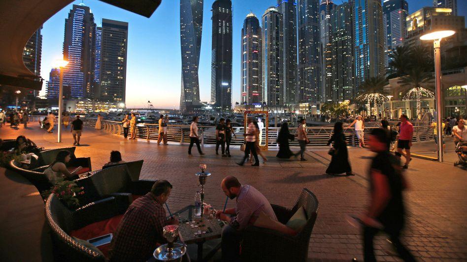 Dubai Marina: Kotzdüne statt Kotzhügel?
