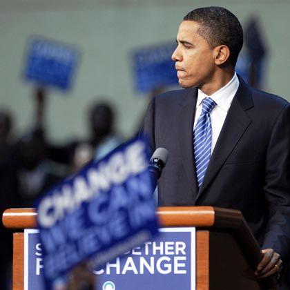 """Demokrat Obama: Im Umfeld von Latte Macchiato und """"New York Times"""" gedeiht seine Botschaft am besten"""
