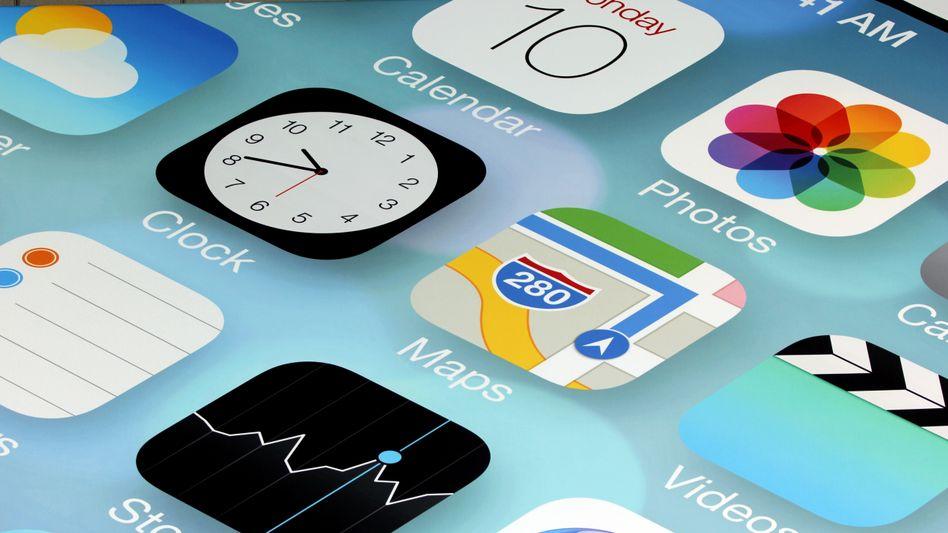 iOS-Apps (Symbolbild): 10.000 Anwendungen sollen betroffen sein