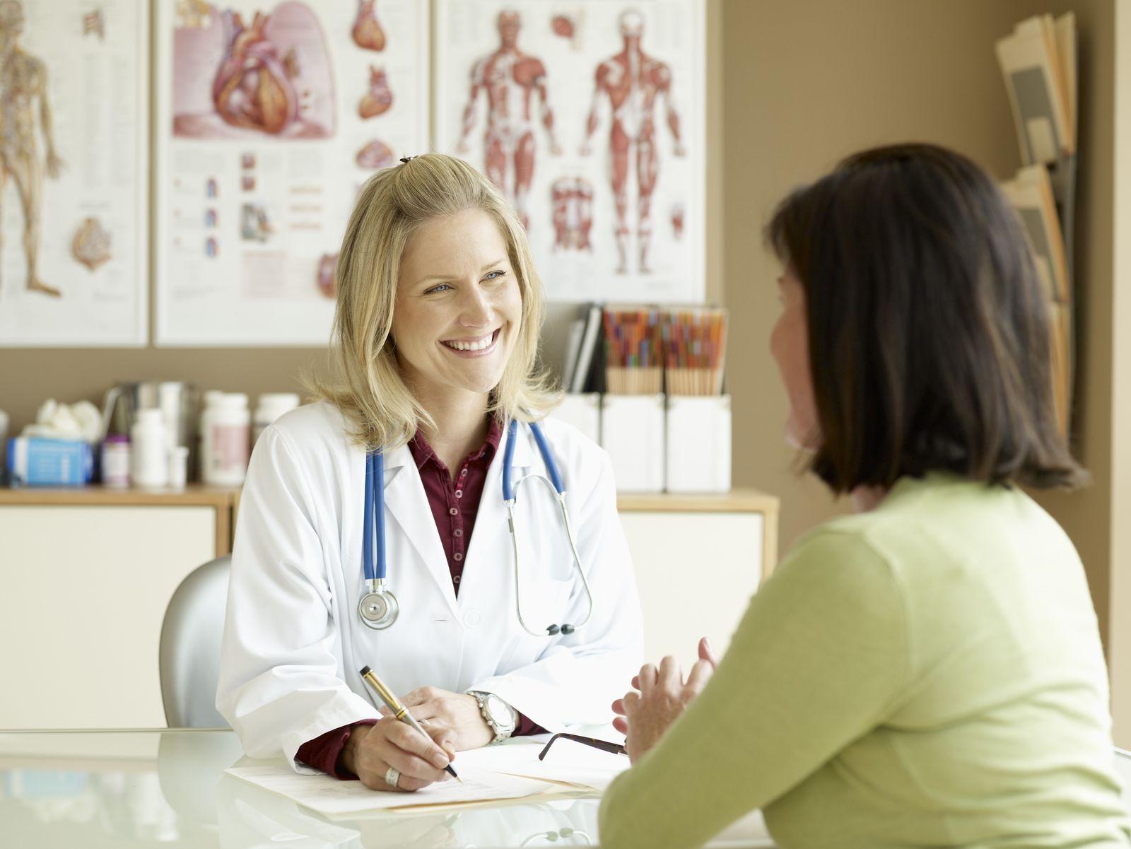 NICHT MEHR VERWENDEN! - Arzt/ Patient/ Gespräch