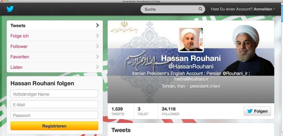 Neue Töne: Irans Politiker entdecken sozialen Netzwerke - und riskieren Ärger