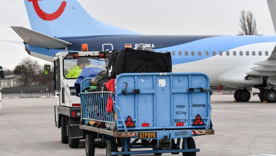 Maschine von Tui-Fly (Archivbild): Für die 15 Boeing 737 Max des Konzerns musste Ersatz gemietet werden