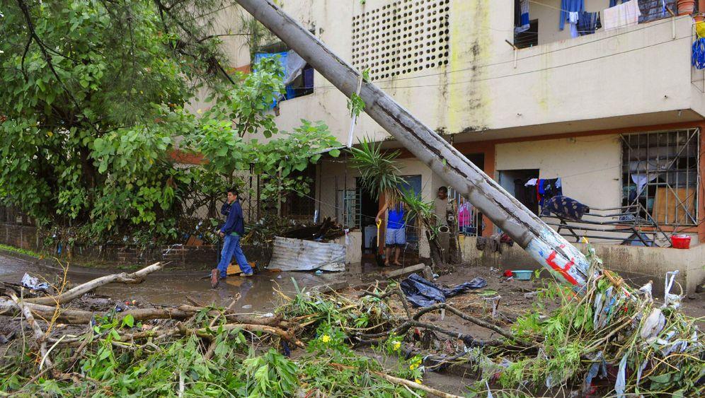 """Spur der Verwüstung: Hurikan """"Ida"""" in El Salvador"""