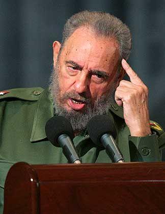 """Fidel Castro: """"George Bush ist ein Alkoholiker und Analphabet"""""""